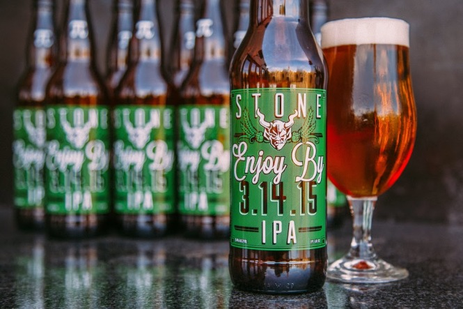 Stone Brewery Enjoy By 3.14.15