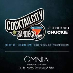 Chuckie at Cocktail City San Diego