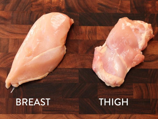 Breasts and Thighs