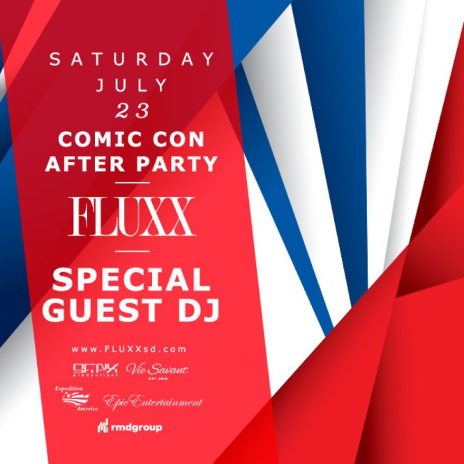 Fluxx Comic Con After Party