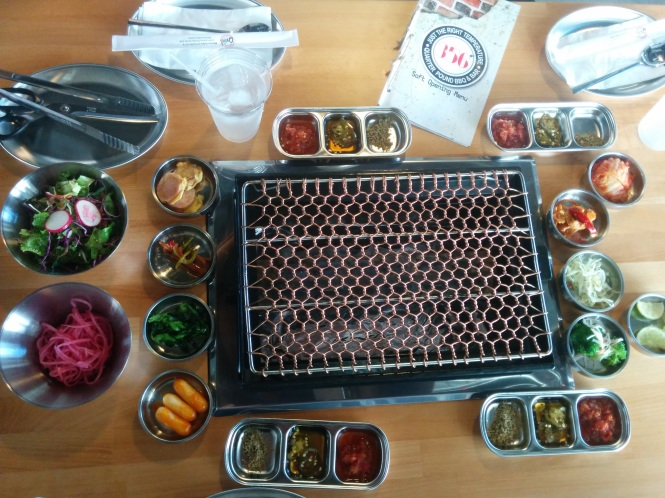 356 Table Spread with Banchan