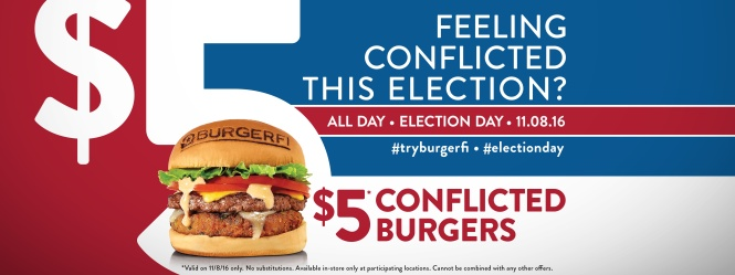 BurgerFi Election Day 2016