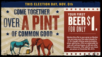World of Beer Election Day 2016