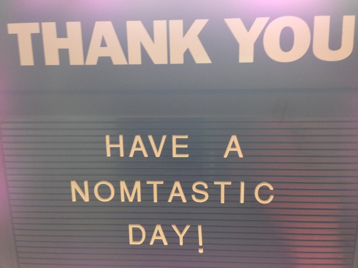 Nom Nom Bento Nomtastic Day