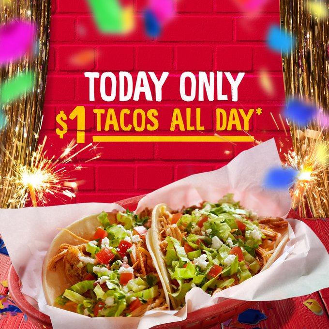 National Taco Day - Fuzzy's Taco Shop