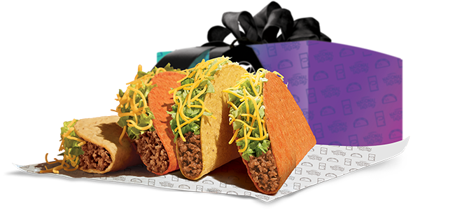 National Taco Day - Taco Bell $5 Gift Set