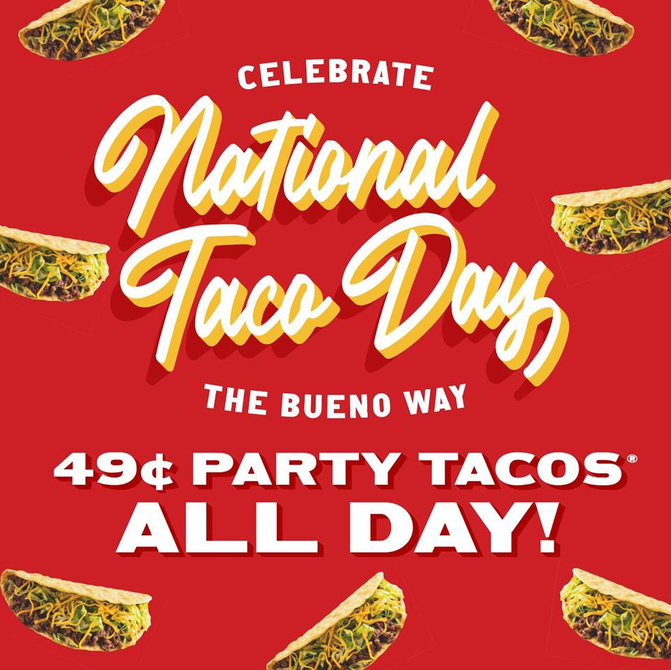 National Taco Day - Taco Bueno