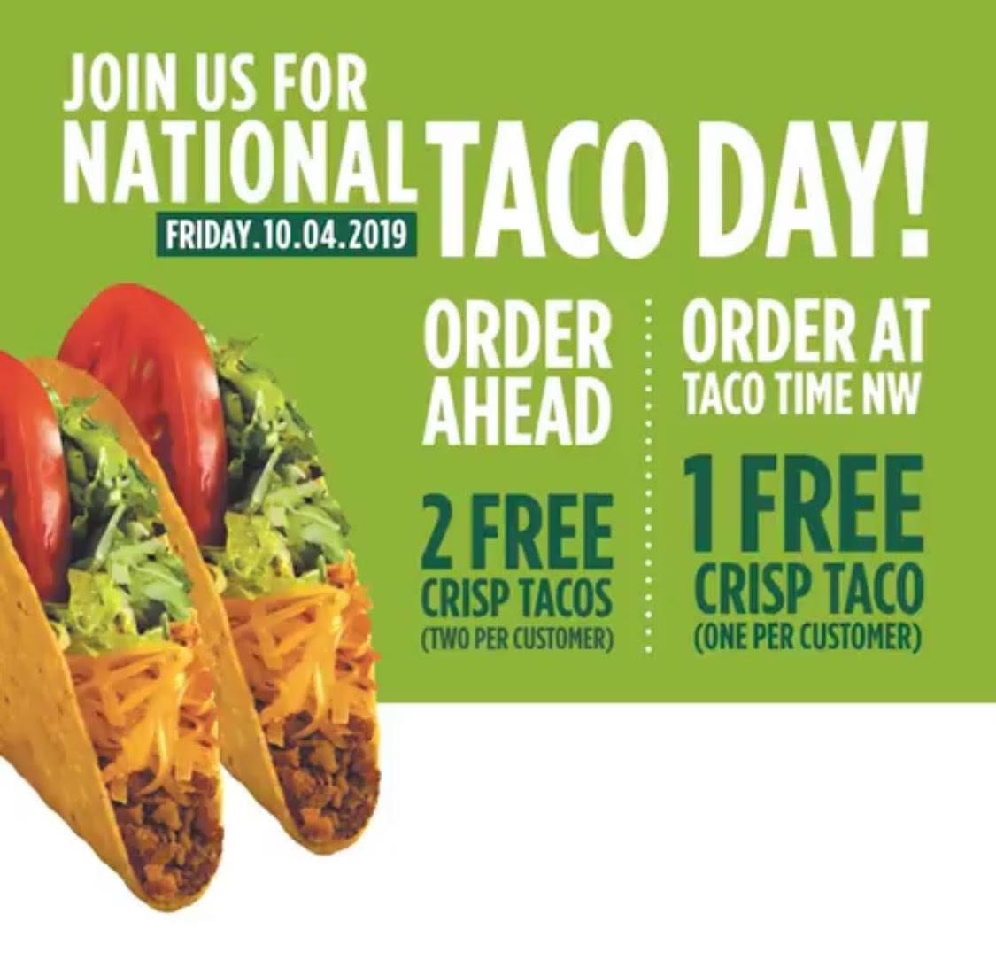 National Taco Day - Taco Time